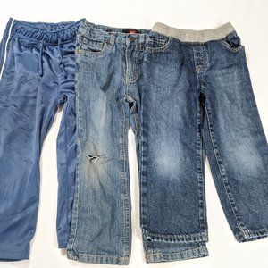 Lot of 3 Pairs of 4T  Boys Pants